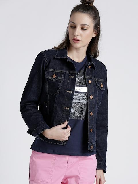 GAP Women's Soft Wear Icon Denim Jacket