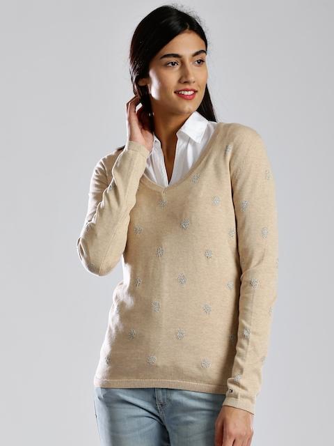 Tommy Hilfiger Light Brown Sweater