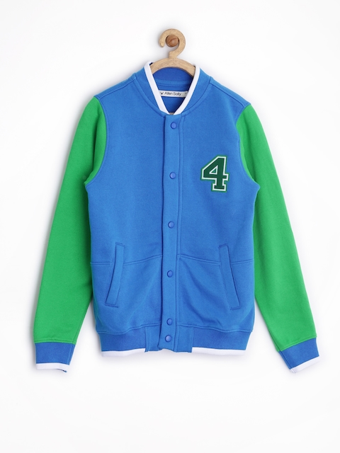 Allen Solly Junior Boys Blue Jacket