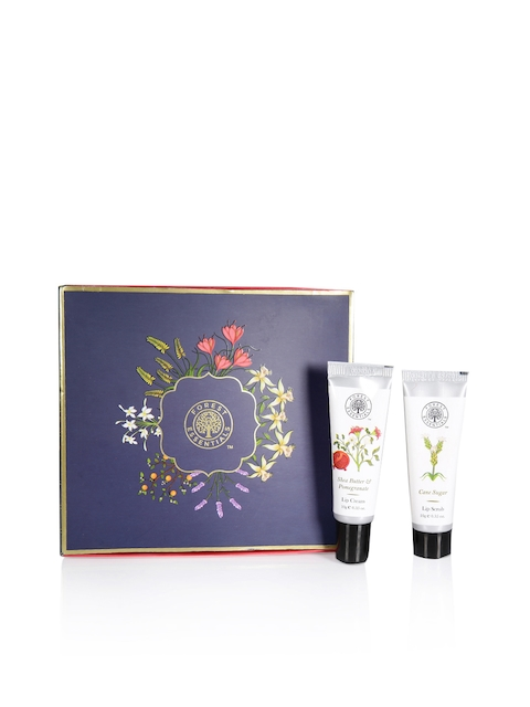 Forest Essentials Women Set of Lip Cream & Lip Scrub