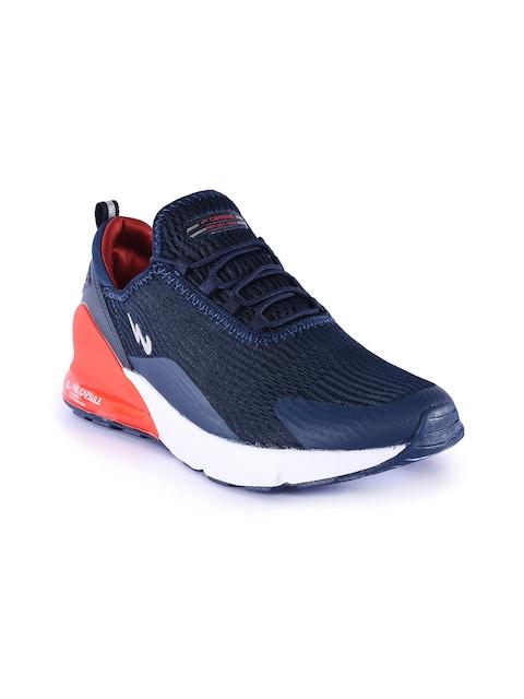 Campus Men Navy Blue VICE Mesh Running Shoes