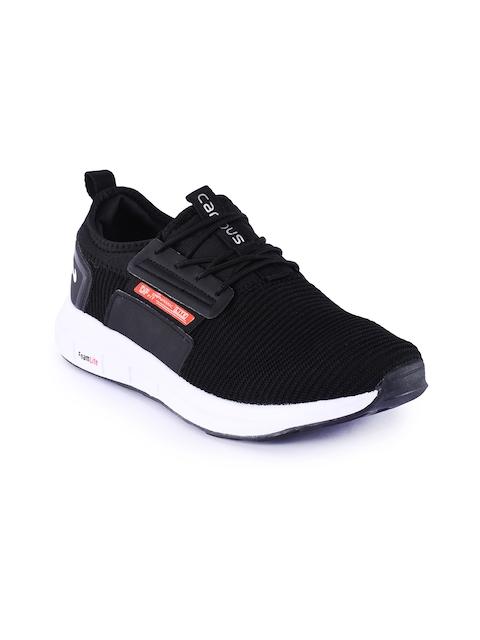 Campus Men Black WEB Mesh Running Shoes