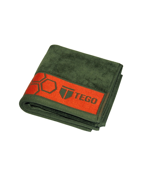 TEGO Unisex Olive Green Antimicrobial Face Towel