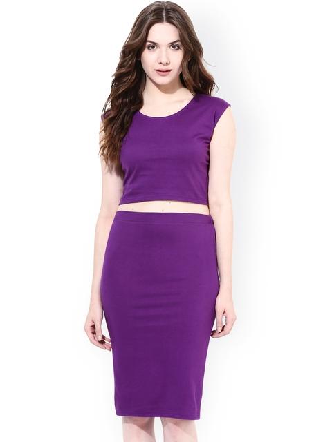 Miss Chase Purple Clothing Set