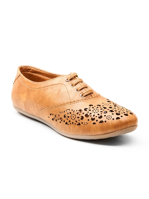 Marc Loire Women Tan Brown Casual Shoes