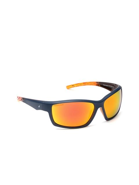 Fastrack Men Mirrored Sunglasses P315OR2