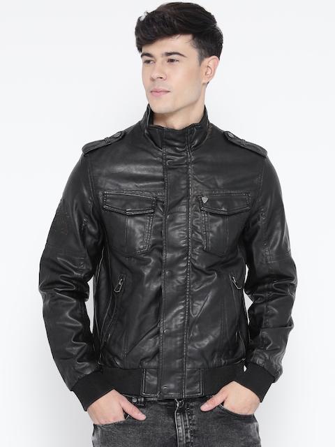 Being Human Clothing Black Leather Jacket
