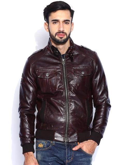 Being Human Clothing Dark Brown Jacket