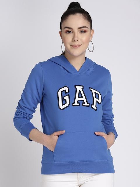 GAP Women's Vintage Soft Logo Pullover Hoodie