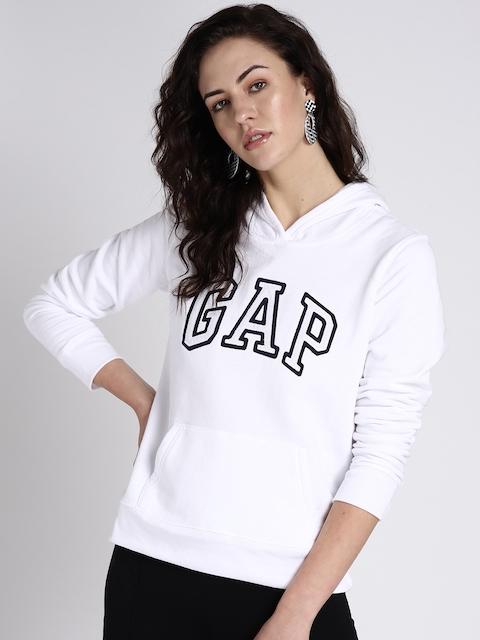 GAP Women Vintage Soft Logo Pullover Hoodie