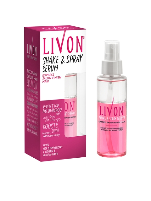 Livon Shake and Spray Hair Serum 100 ml