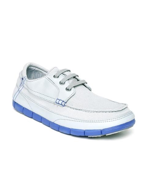 Crocs Men Grey Stretch Sole Casual Shoes