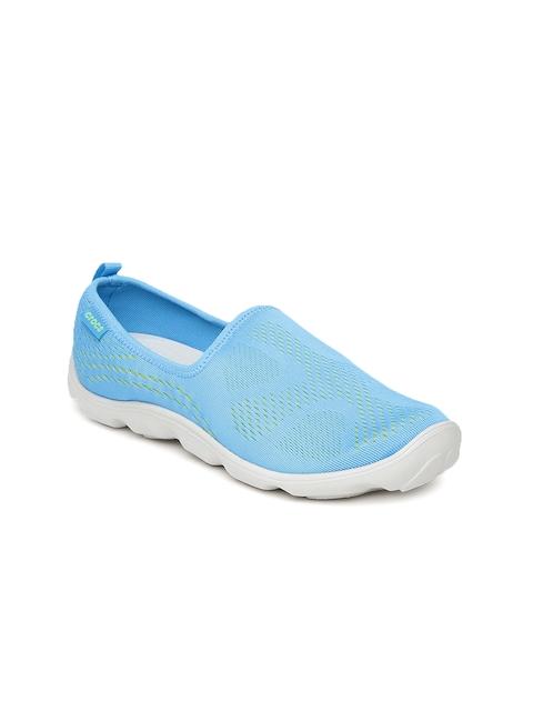 Crocs Women Blue Slip-On Sneakers