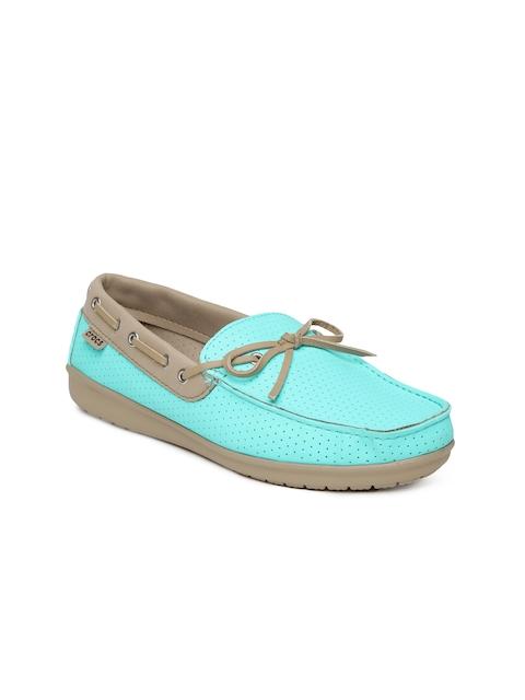Crocs Women Turquoise Blue Casual Shoes