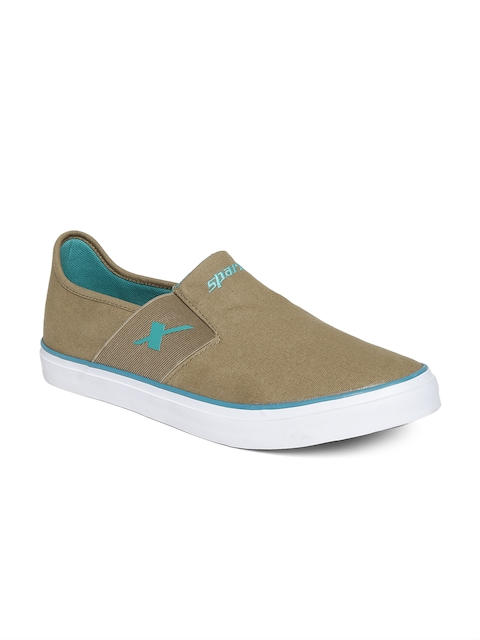Sparx Men Khaki Canvas Shoes