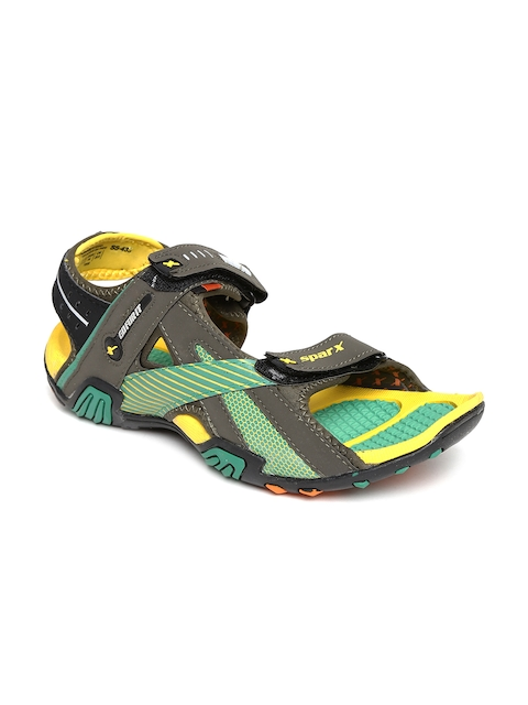 Sparx Men Olive Green Sports Sandals