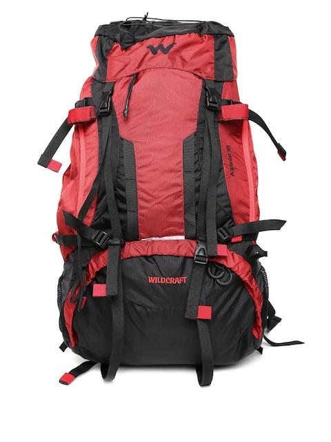 Wildcraft Unisex Red & Black Alpinist Plus Rucksack