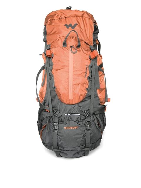 Wildcraft Unisex Orange & Grey Gangotri Plus Rucksack