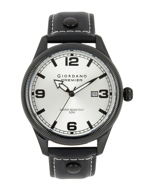 GIORDANO Men Pearly White Dial Watch P170-04