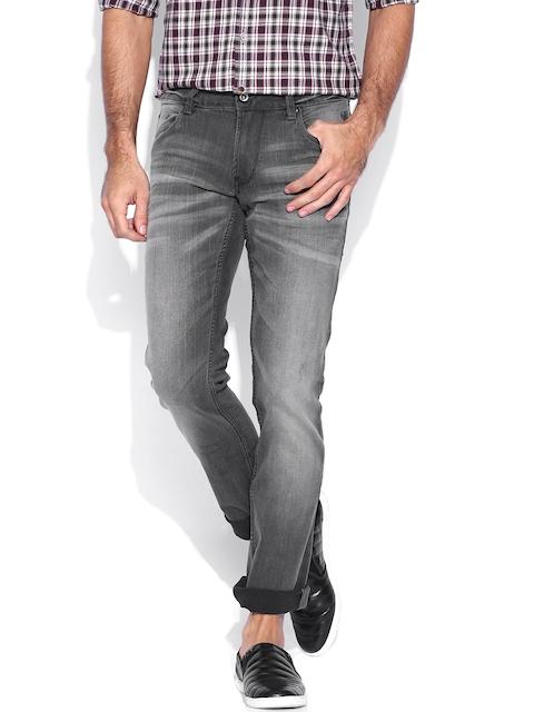Flying Machine Grey Michael Slim Fit Jeans