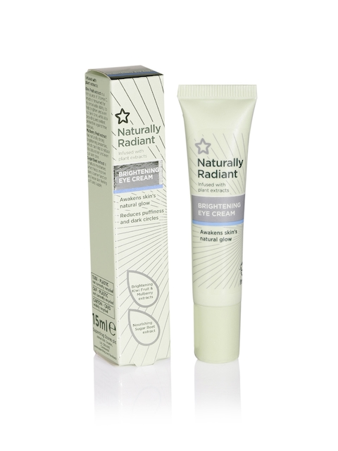Superdrug Unisex Naturally Radiant Brightening Eye Cream 15 ml