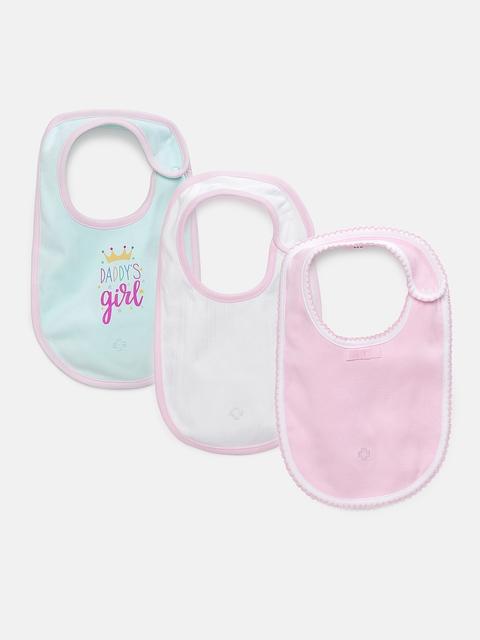 My Milestones Infants Bibs Gift Set 3 pcs