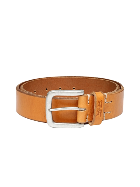 Levi's Men Brown Leather Belt