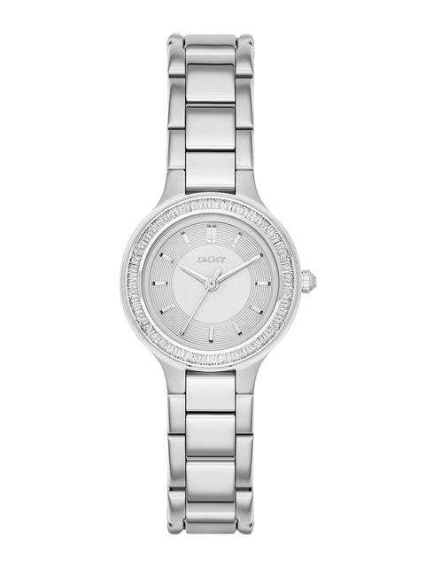 DKNY Women Silver-Toned Dial Watch NY2391