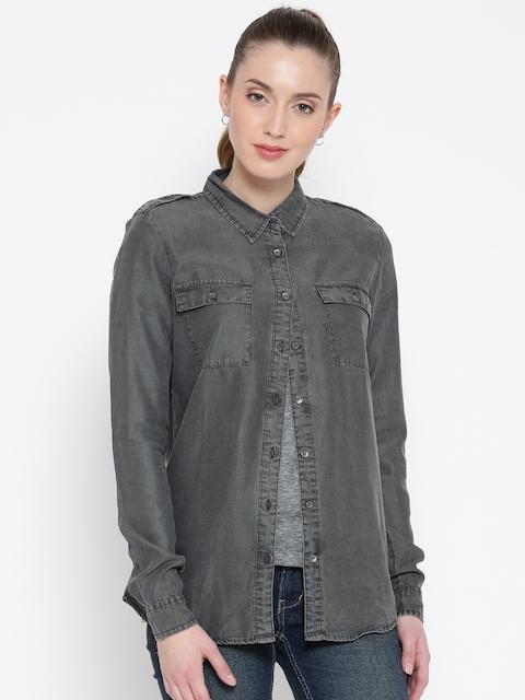 Being Human Clothing Grey Shirt