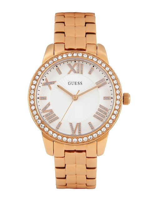 Guess W0444L3 White Dial Analog Women's Watch (W0444L3)