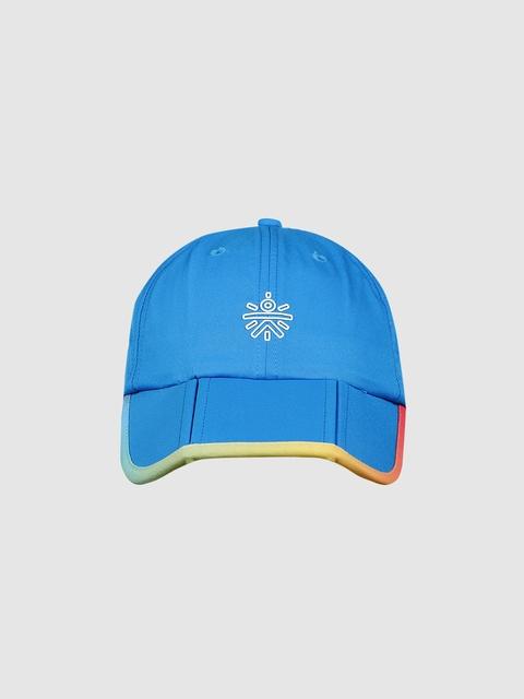 Cultsport Unisex Blue Solid Baseball Cap
