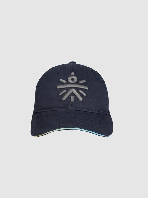 Cultsport Unisex Navy Blue Solid Baseball Cap