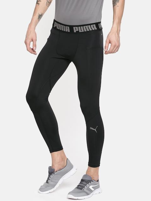 Puma Men Black BND Long dryCELL Solid Training & Running Tights