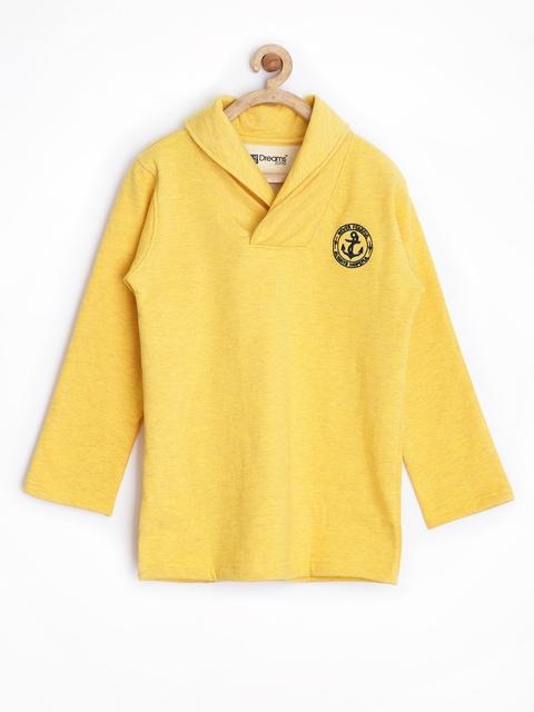 Dreamszone Boys Yellow Sweatshirt