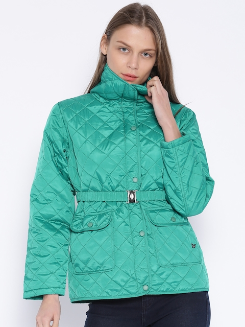 Duke Green Quilted Jacket