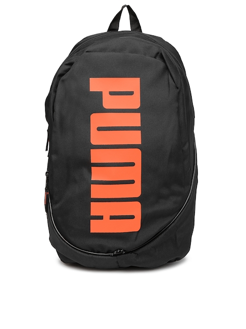 PUMA Unisex Black Pioneer Backpack II Backpack