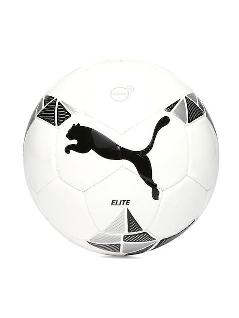 PUMA White ELITE 2 Football