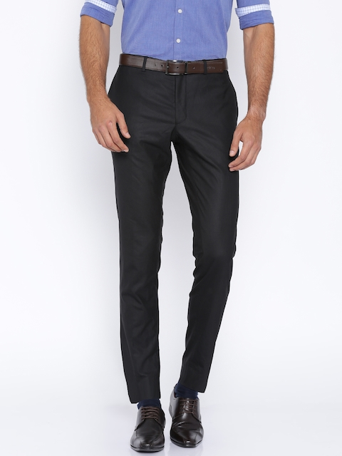Jack & Jones Black Formal Trousers
