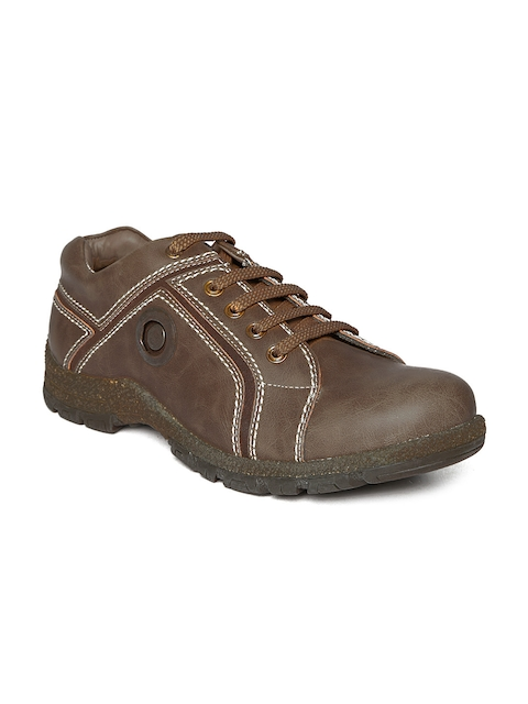 BCK Men Coffee Brown Alano Casual Shoes  available at myntra for Rs.918