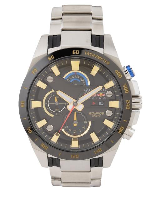 Casio Edifice Silver Analogue Men's Watch, EFR-540RB-1ADR (EX214)