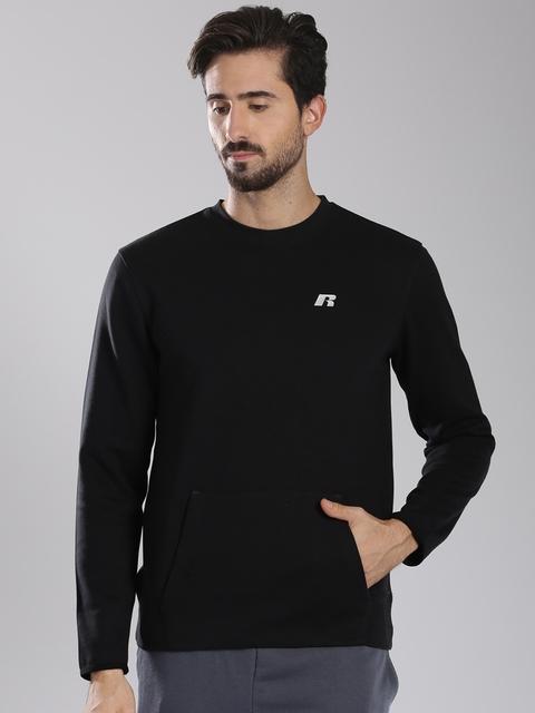 Russell Athletic Black A5-052-2 Sweatshirt