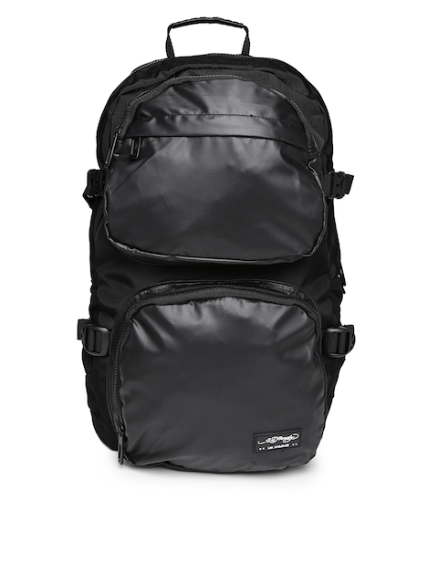 Ed Hardy Unisex Black Waterproof Backpack  available at myntra for Rs.2999