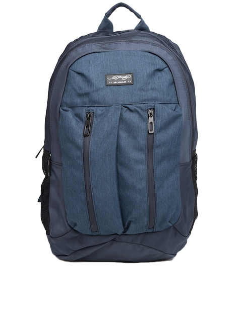Ed Hardy Unisex Navy Waterproof Backpack  available at myntra for Rs.2239