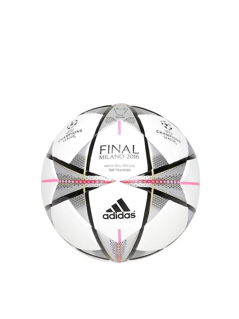 Adidas Men White FINMILANOTTRAIN Star Print Football