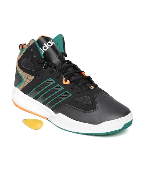 Adidas NEO Men Black CloudFoam Thunder Casual Shoes