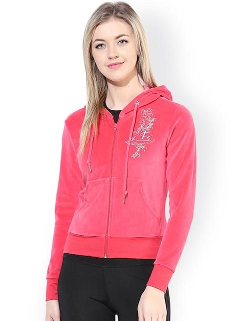 TshirtCompany Coral Pink Hooded Sweatshirt