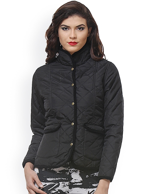 PURYS Black Quilted jacket