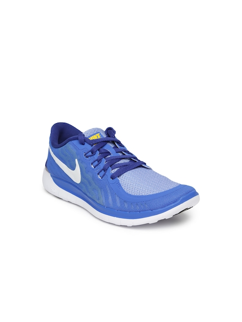 Nike Boys Blue Free 5.0 (GS) Running Shoes  available at myntra for Rs.5295