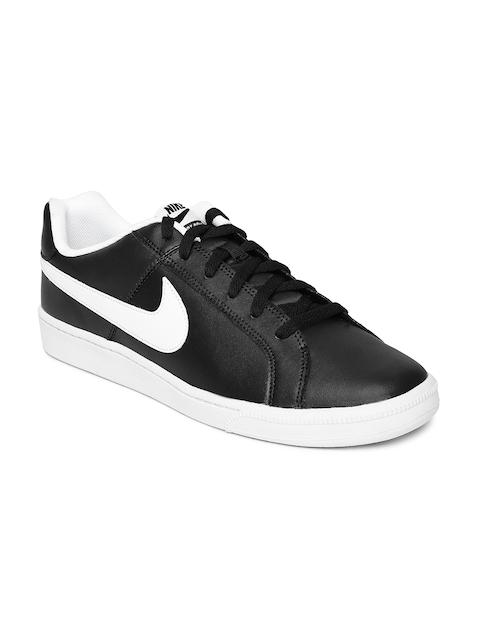 Nike Men Black Court Royale NSW Leather Casual Shoes  available at myntra for Rs.4495