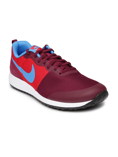 Nike Men Maroon & Red Elite Shinsen Casual Shoes